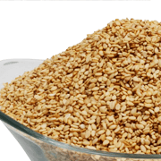 Roasted /Toasted Sesame Seeds (Natural & Hulled)